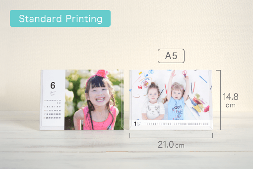 product photo(Stand Up Desk Calendar (Card, with holder stand display))
