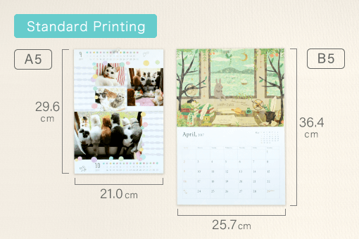 product photo(Wall Calendar (Saddle Stitched))